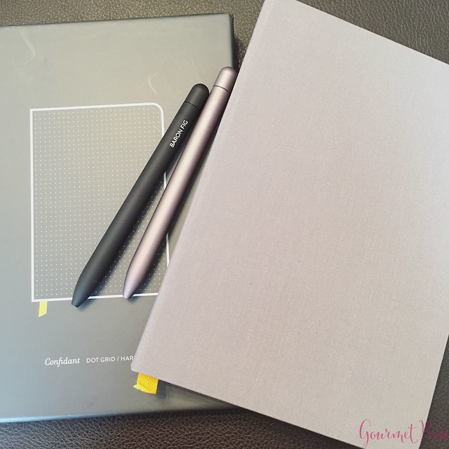 Review @BaronFig Confidant Notebook & Squire Rollerball Pens 4