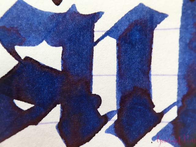 Ink Shot Review Diamine Music Tchaikovsky @AppelboomLaren 7