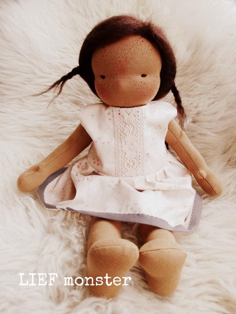 Billie, an 16 inch LIEF monster doll