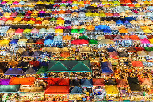 Night Market in Bangkok, Thailand | by aotaro