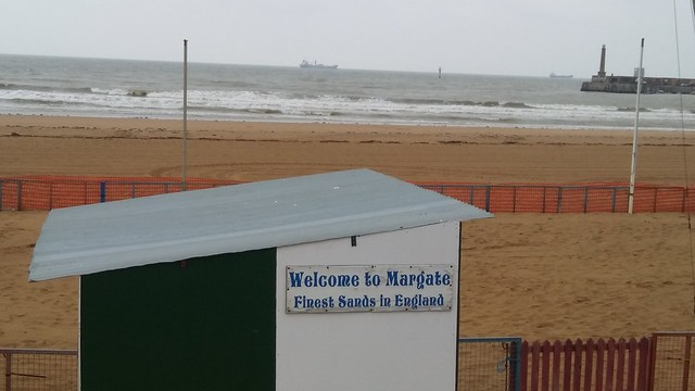 The finest sands in England at Margate