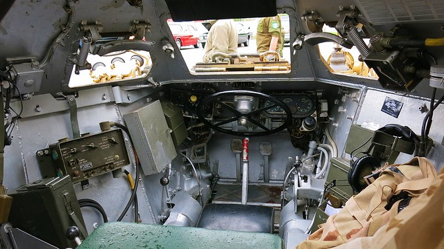 1955 daimler ferret mark 2 3 armoured scout car interior flickr photo sharing