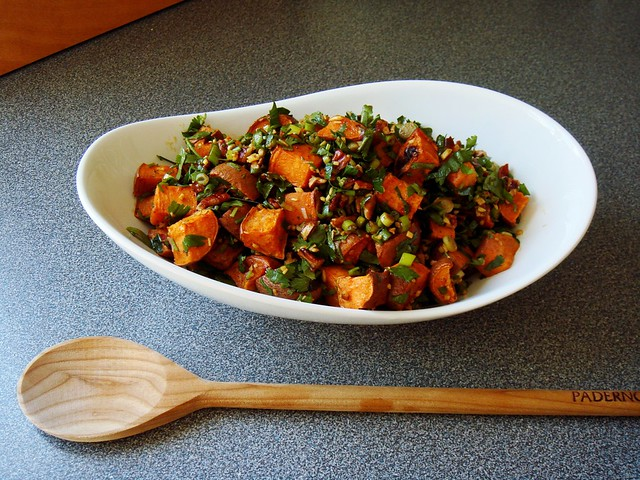 Herb & Ginger Roasted Sweet Potato | Flickr - Photo Sharing!