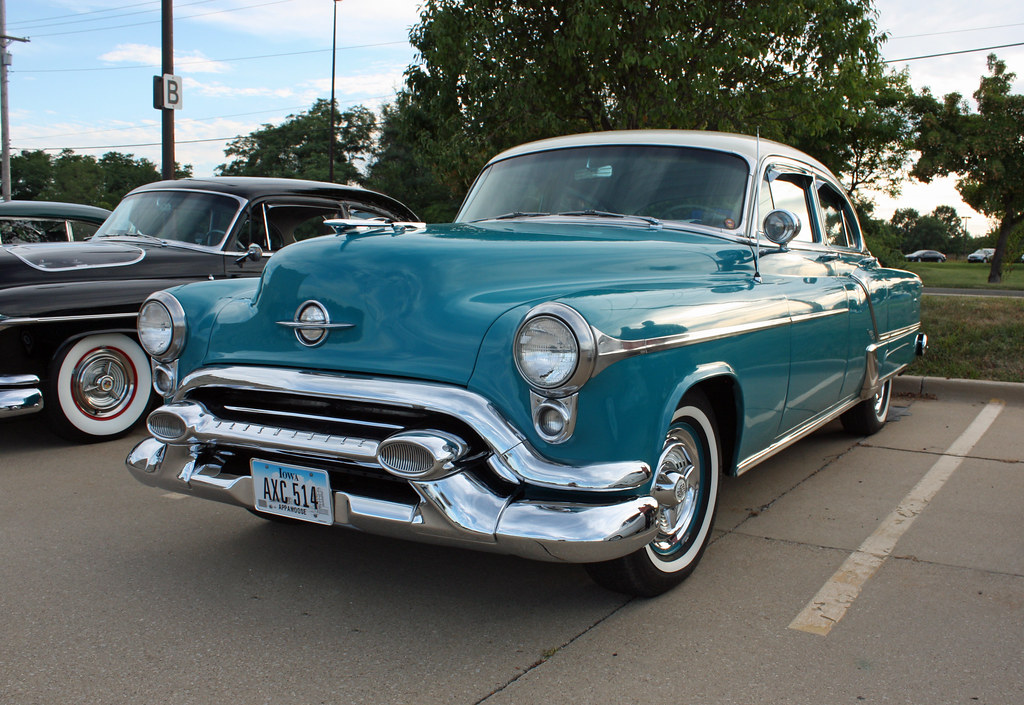 1953 oldsmobile 98 4 door sedan 1 of 7 photographed at for 1947 oldsmobile 4 door sedan