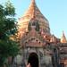 Sunset at Dhamma Ya Zika Pagoda