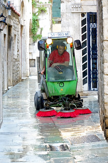Croatia-01264 - Street Cleaning | by archer10 (Dennis) 115M Views
