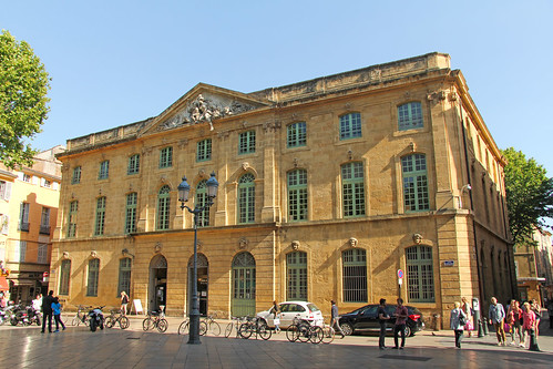 place de l 39 h tel de ville aix en provence france flickr. Black Bedroom Furniture Sets. Home Design Ideas