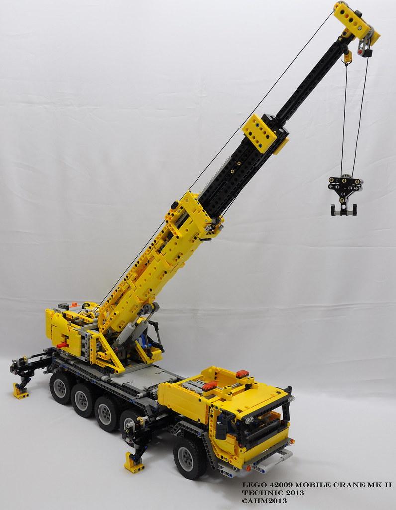 Mobile Crane Terminology : Lego technic mobile crane mk ii