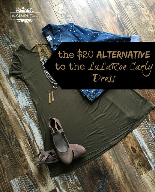 The $20 Alternative to the Lularoe Carly Dress image