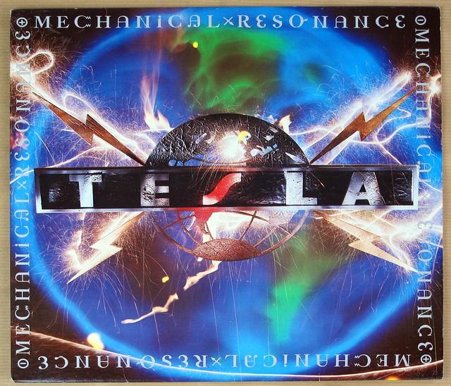 """TESLA MECHANICAL RESONANCE + INNER SLEEVE 12"""" LP VINYL"""
