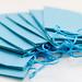 Blaue Papier-Geschenktüten