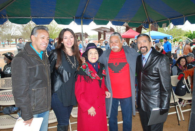 Dolores Huerta Gateway Park Dedication