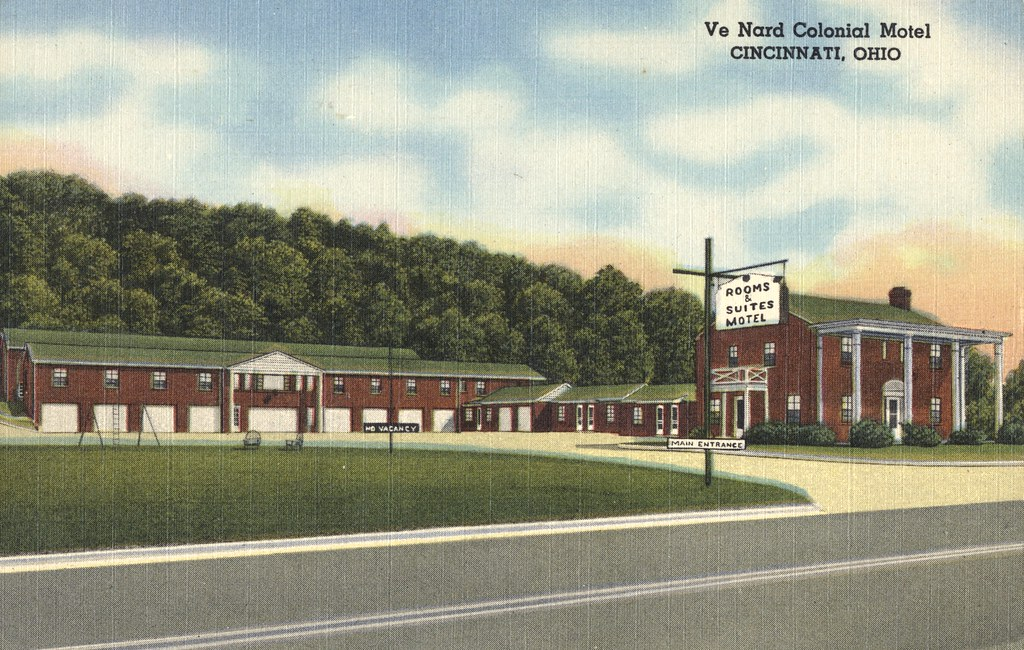 VeNard Colonial Motel - Cincinnati, Ohio