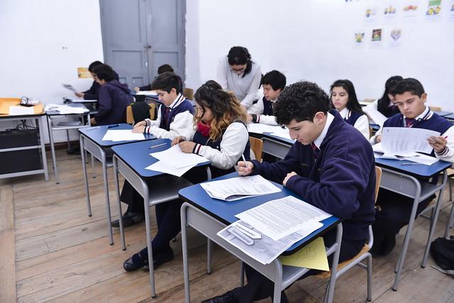 Taller de orientación vocacional a estudiantes de colegios de la ciudad de Loja
