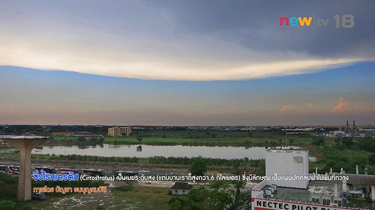 ธรรมชาติมาหานคร : มวลเมฆปรากฏการณ์บนท้องฟ้า