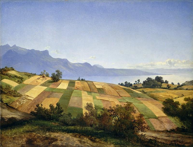 Alexandre Calame - Paysage suisse (c.1830)