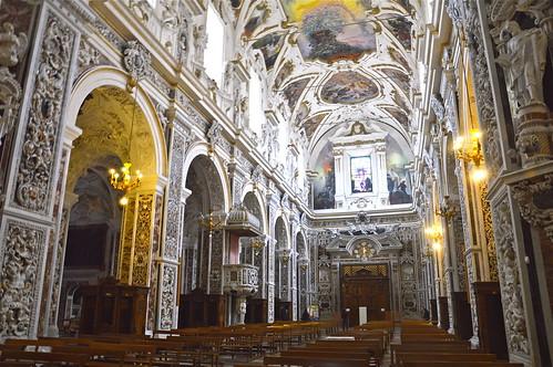Interno della chiesa del ges o casa professa vista dall - Coibentare casa dall interno ...