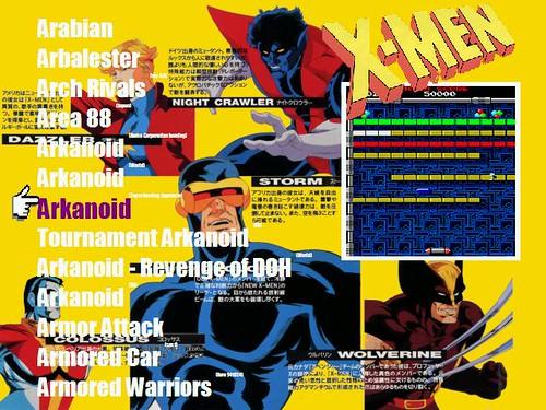 X-Men - skin AtomicFE