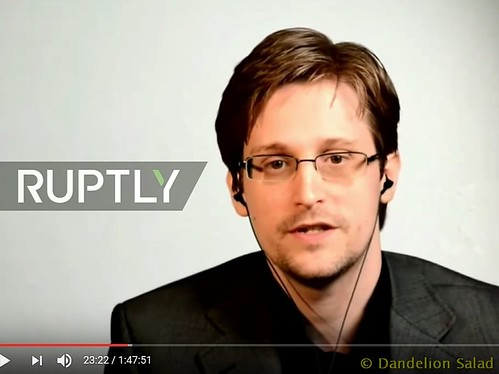 Edward Snowden: Liberty VS Surveillance