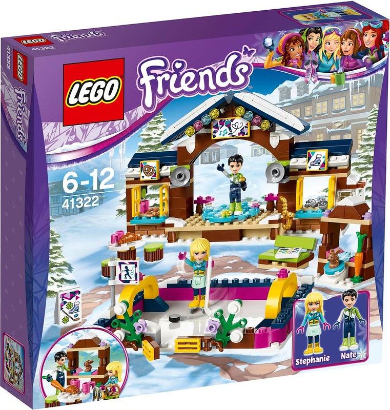 LEGO Friends Snow Resort Ice Rink (41322)