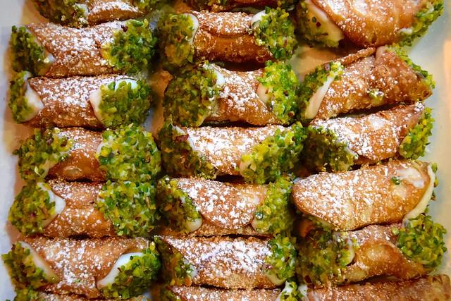 Pistacho Cannoli at Firezza, Soho | www.rachelphipps.com @rachelphipps