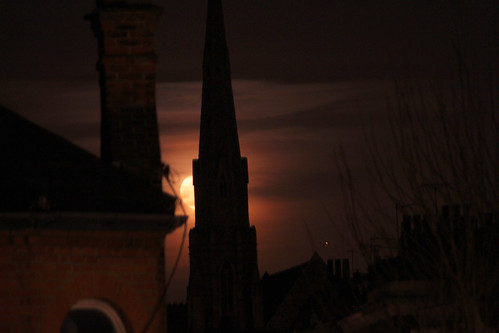 Moon over Kentish Town, 14-03-17