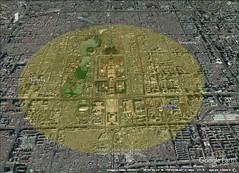 Bejing 5 kilometer diameter