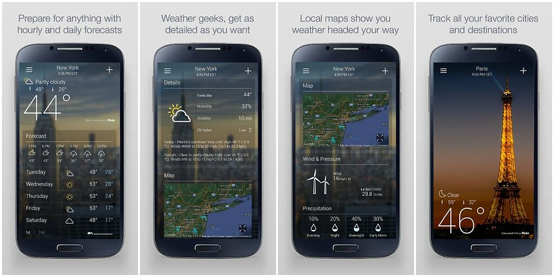 YahooWeather-app