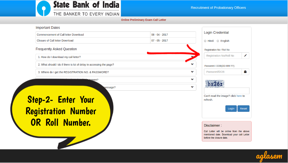 SBI PO Admit Card 2019