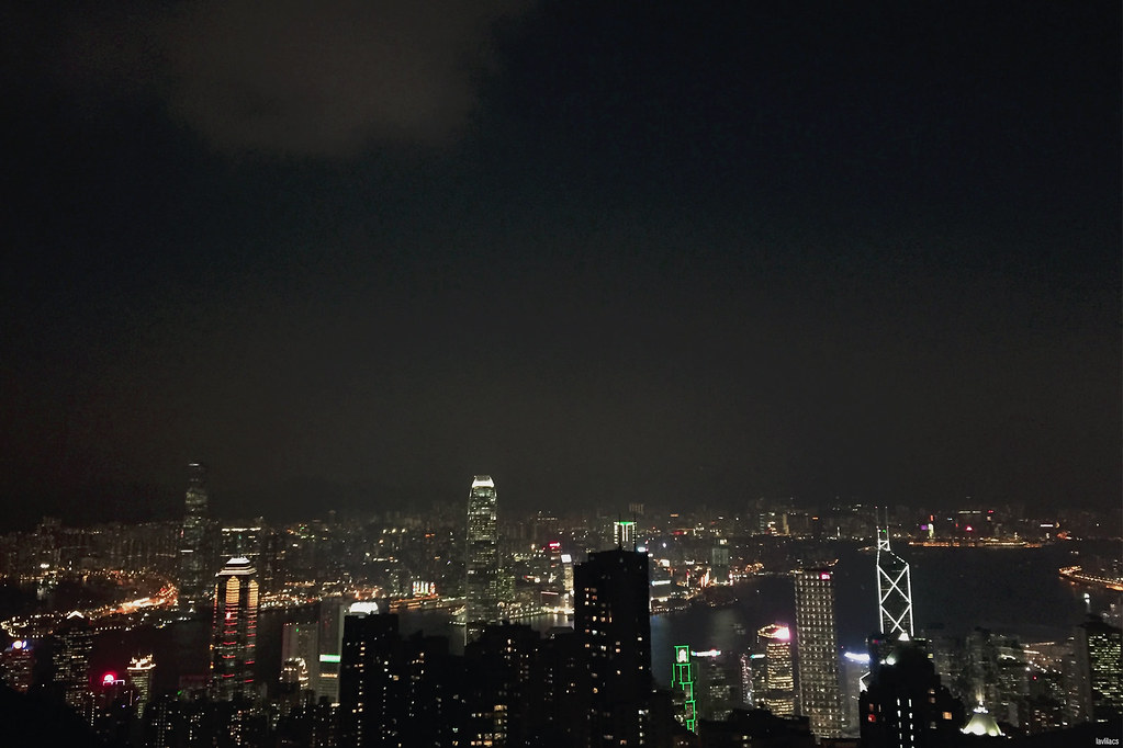 lavlilacs Hong Kong Victoria Peak night view