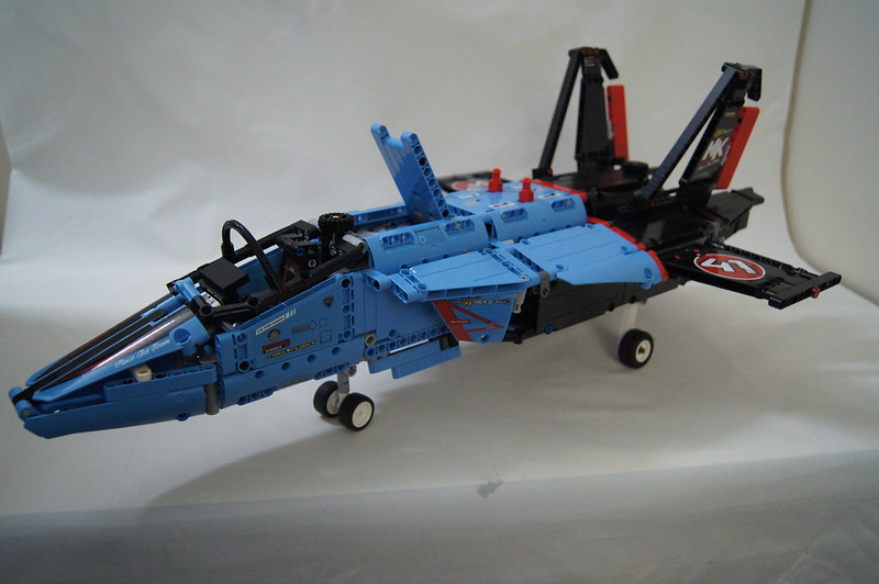 review 42066 air race jet lego technic and model team. Black Bedroom Furniture Sets. Home Design Ideas