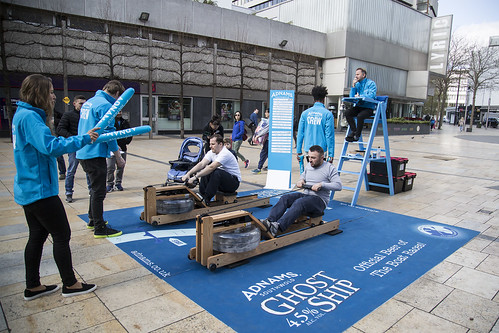 Adnams Rowing Challenge Day 4 - Lyric Square, Hammersmith