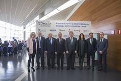 29/03/2017 - Inauguración del XIII Foro de Empleo y Emprendimiento de la Universidad de Deusto