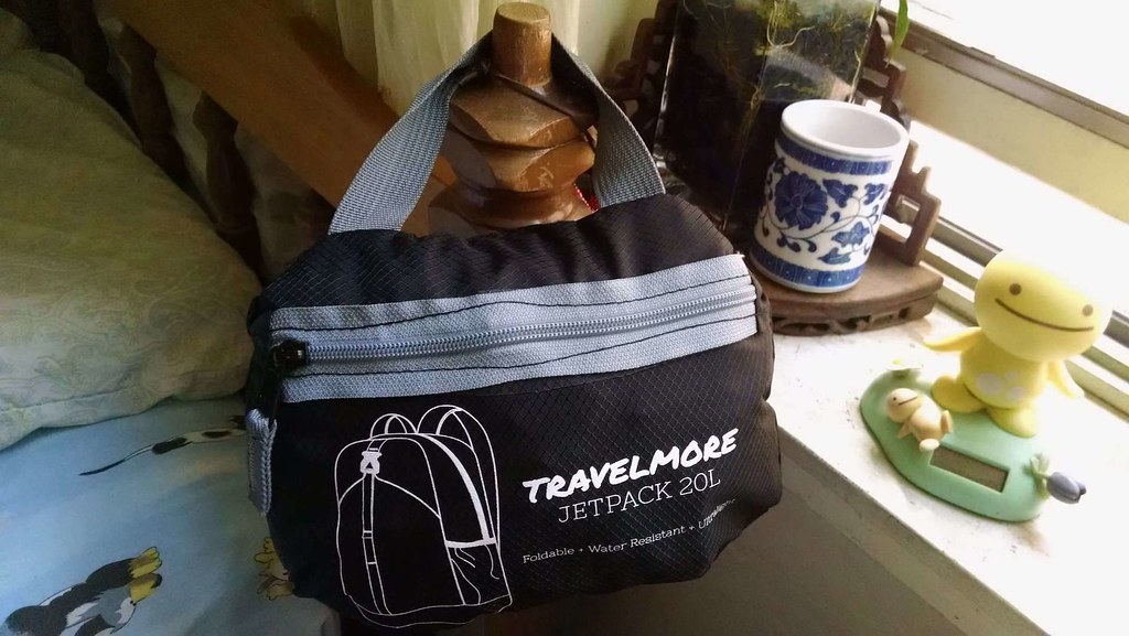 TravelMore Jetpack 20L when packed