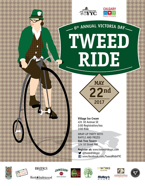 6th Annual Victoria Day Tweed Ride