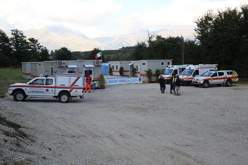 Terremoto centro Italia: attività sanitarie
