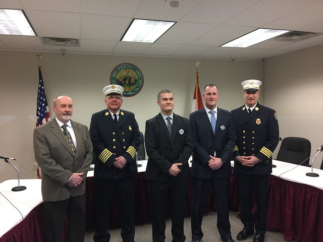 04-06-17 Troy Fire Department Swearing-In Ceremony