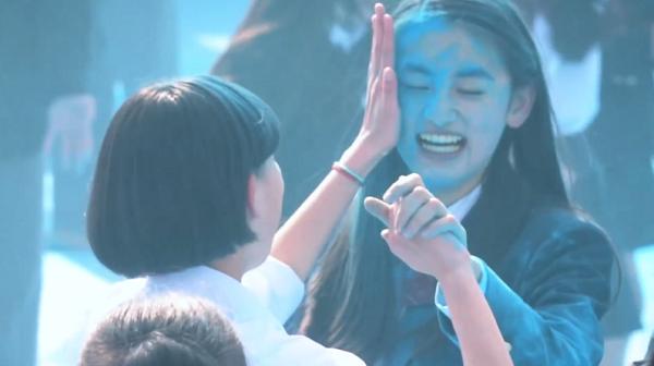 【動画】ポカリ新CM「踊る始業式」篇 メイキング