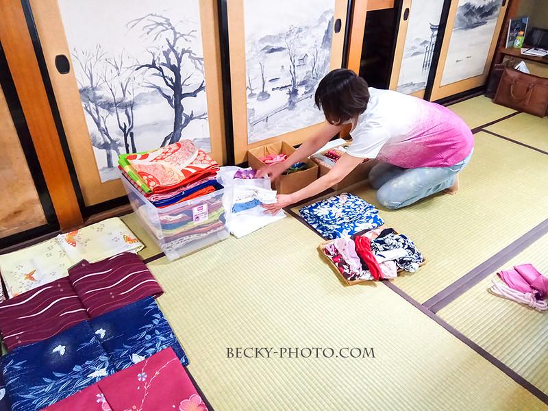 2017.Apr 角館の桜和服 @たてつ家