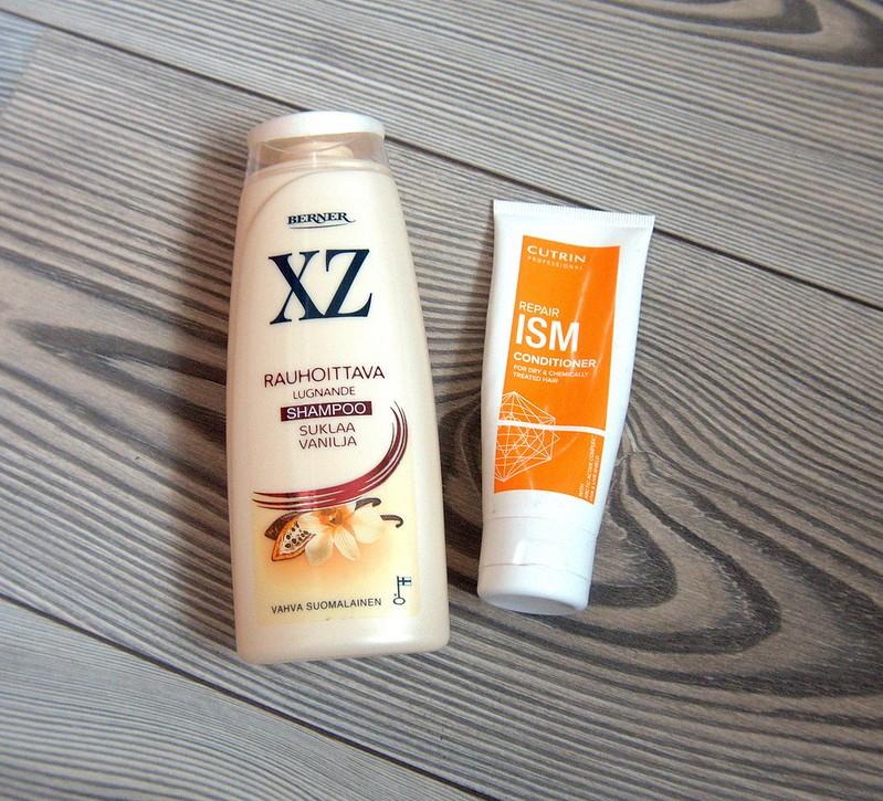 XZ vanilja-suklaa shampoo