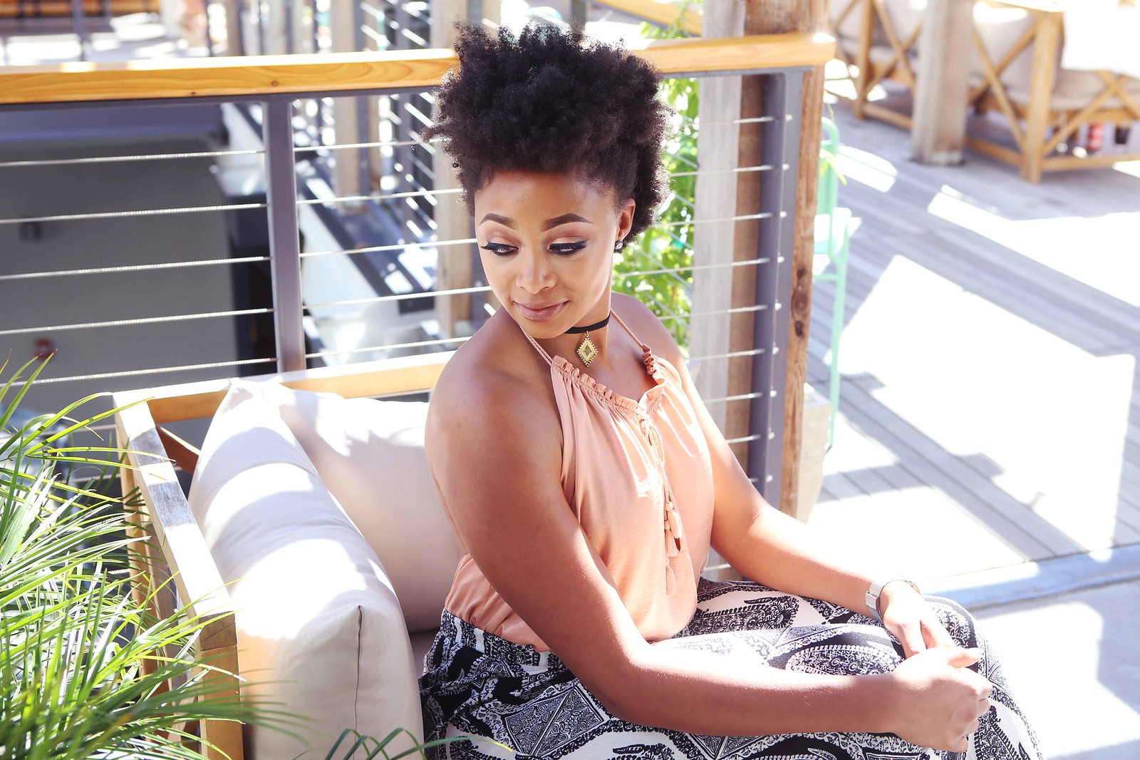 natural hair beauty blogger