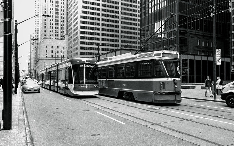New, and Old Streetcars