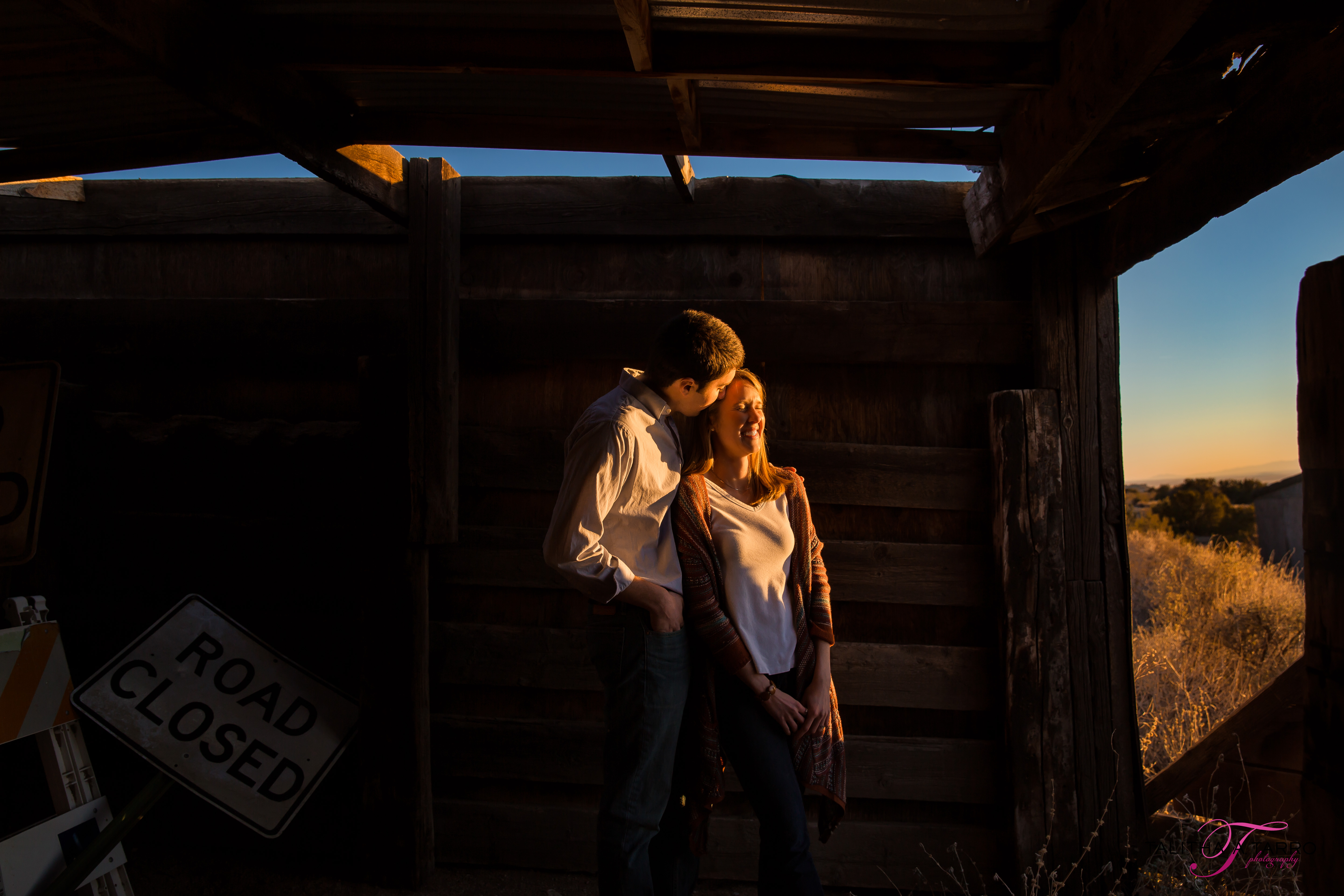 Albuquerque Foothills Engagement