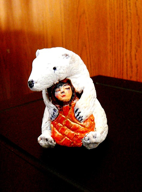 Week 12 - Bear Medicine sculpture