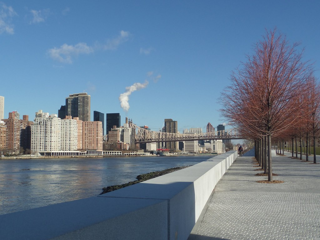 Franklin Roosevelt Four Freedoms Park, New York City