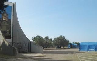 La tendopoli allestita a Turi lo sorso anno