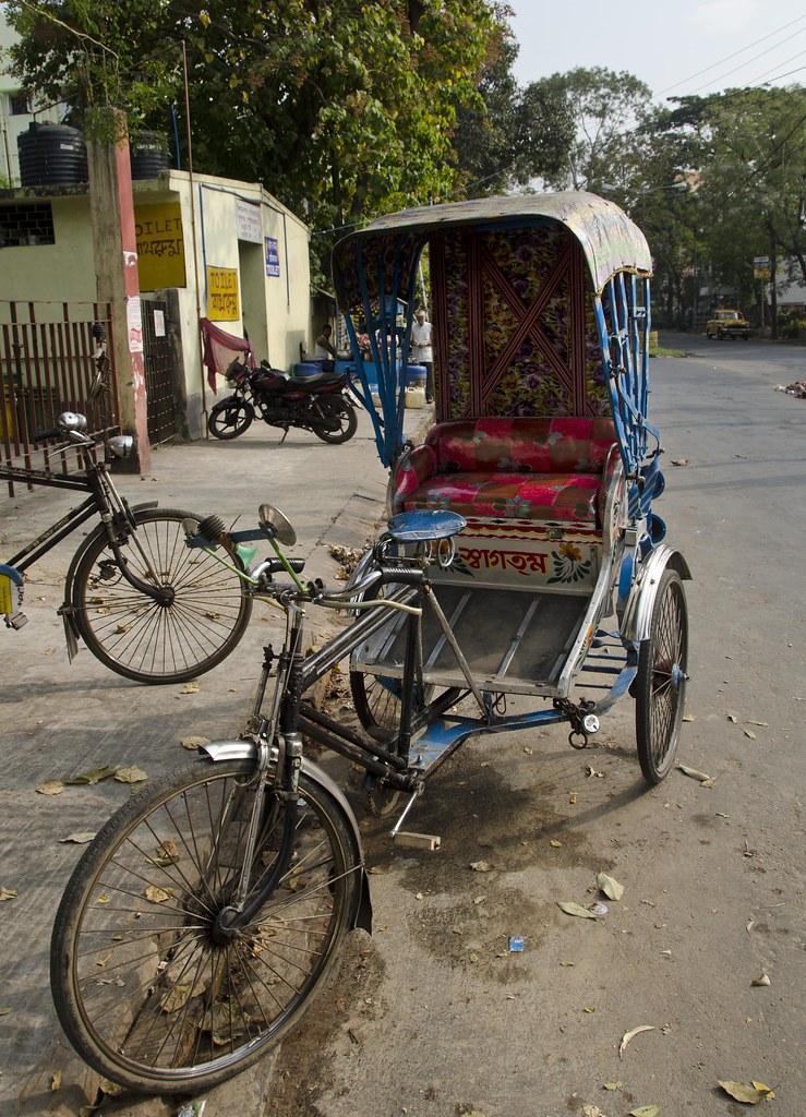 Rickshaw D7k 4621 Ep Kolkata Calcutta India 2012