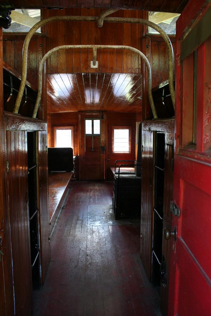 caboose interior minnesota museum of mining chisholm min lars hammar flickr. Black Bedroom Furniture Sets. Home Design Ideas