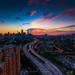 BLESSING | sunset of Kuala Lumpur skyline |