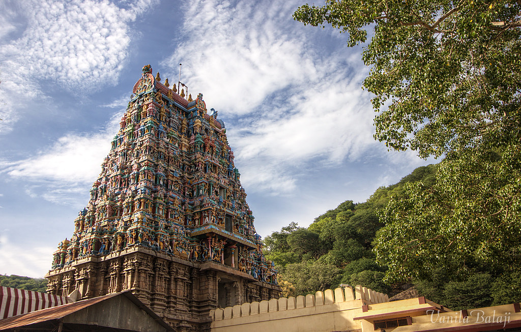 Kovil Gopuram Gopuram of Alagar Kovil